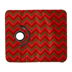 Background Retro Red Zigzag Galaxy S3 (flip/folio)