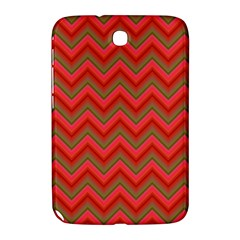 Background Retro Red Zigzag Samsung Galaxy Note 8 0 N5100 Hardshell Case