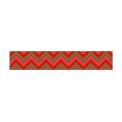 Background Retro Red Zigzag Flano Scarf (mini)