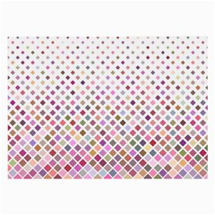 Pattern Square Background Diagonal Large Glasses Cloth by Nexatart