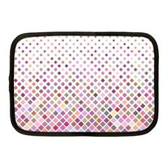 Pattern Square Background Diagonal Netbook Case (medium)