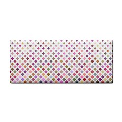 Pattern Square Background Diagonal Cosmetic Storage Cases