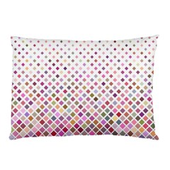 Pattern Square Background Diagonal Pillow Case (two Sides) by Nexatart