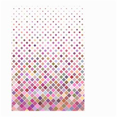 Pattern Square Background Diagonal Small Garden Flag (two Sides) by Nexatart