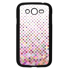 Pattern Square Background Diagonal Samsung Galaxy Grand Duos I9082 Case (black)