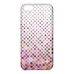 Pattern Square Background Diagonal Apple Iphone 5c Hardshell Case by Nexatart