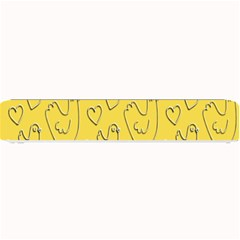 Chicken Chick Pattern Wallpaper Small Bar Mats