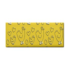 Chicken Chick Pattern Wallpaper Cosmetic Storage Cases