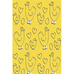 Chicken Chick Pattern Wallpaper 5 5  X 8 5  Notebooks