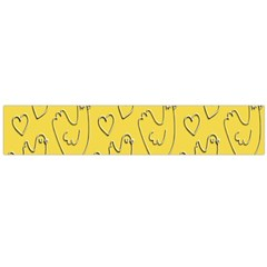 Chicken Chick Pattern Wallpaper Flano Scarf (large)