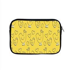 Chicken Chick Pattern Wallpaper Apple Macbook Pro 15  Zipper Case