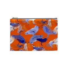 Seagull Gulls Coastal Bird Bird Cosmetic Bag (medium)