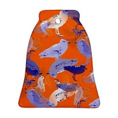 Seagull Gulls Coastal Bird Bird Ornament (bell)