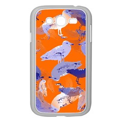 Seagull Gulls Coastal Bird Bird Samsung Galaxy Grand Duos I9082 Case (white) by Nexatart