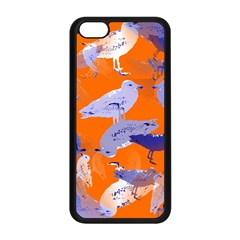Seagull Gulls Coastal Bird Bird Apple Iphone 5c Seamless Case (black) by Nexatart