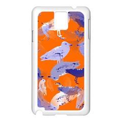 Seagull Gulls Coastal Bird Bird Samsung Galaxy Note 3 N9005 Case (white)