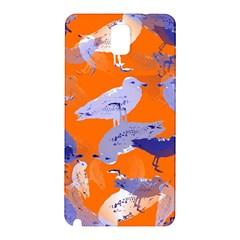Seagull Gulls Coastal Bird Bird Samsung Galaxy Note 3 N9005 Hardshell Back Case