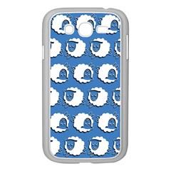 Sheep Pattern Wallpaper Vector Samsung Galaxy Grand Duos I9082 Case (white)