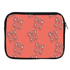 Butterfly Pink Pattern Wallpaper Apple Ipad 2/3/4 Zipper Cases