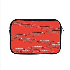 Crocodile Alligator Pattern Apple Macbook Pro 15  Zipper Case by Nexatart