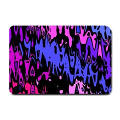 Modern Abstract 46b Small Doormat  by MoreColorsinLife