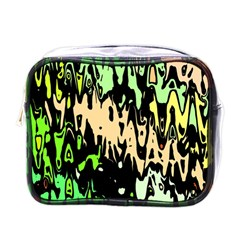 Modern Abstract 46c Mini Toiletries Bags by MoreColorsinLife
