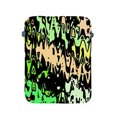 Modern Abstract 46c Apple Ipad 2/3/4 Protective Soft Cases by MoreColorsinLife