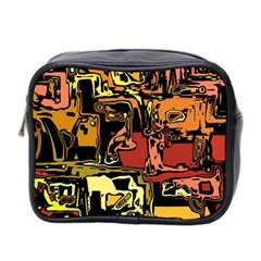 Modern Abstract 47c Mini Toiletries Bag 2 Side by MoreColorsinLife