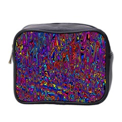Modern Abstract 45a Mini Toiletries Bag 2 Side by MoreColorsinLife
