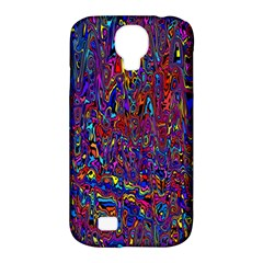 Modern Abstract 45a Samsung Galaxy S4 Classic Hardshell Case (pc+silicone) by MoreColorsinLife