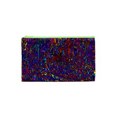 Modern Abstract 45a Cosmetic Bag (xs) by MoreColorsinLife