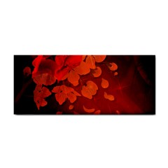 Cherry Blossom, Red Colors Cosmetic Storage Cases by FantasyWorld7