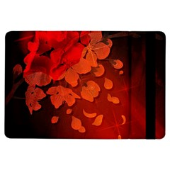 Cherry Blossom, Red Colors Ipad Air Flip by FantasyWorld7