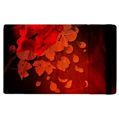 Cherry Blossom, Red Colors Apple Ipad Pro 9 7   Flip Case by FantasyWorld7