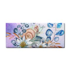 Snail And Waterlily, Watercolor Cosmetic Storage Cases by FantasyWorld7