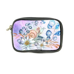 Snail And Waterlily, Watercolor Coin Purse by FantasyWorld7