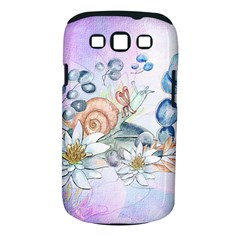 Snail And Waterlily, Watercolor Samsung Galaxy S Iii Classic Hardshell Case (pc+silicone) by FantasyWorld7
