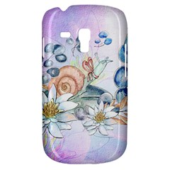 Snail And Waterlily, Watercolor Galaxy S3 Mini by FantasyWorld7