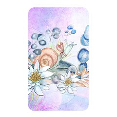 Snail And Waterlily, Watercolor Memory Card Reader by FantasyWorld7