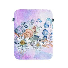 Snail And Waterlily, Watercolor Apple Ipad 2/3/4 Protective Soft Cases by FantasyWorld7