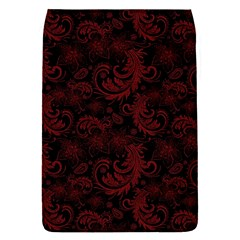 Dark Red Flourish Flap Covers (s)  by gatterwe