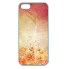 Flower Power, Cherry Blossom Apple Seamless Iphone 5 Case (color) by FantasyWorld7