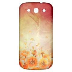 Flower Power, Cherry Blossom Samsung Galaxy S3 S Iii Classic Hardshell Back Case by FantasyWorld7