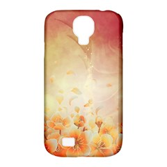 Flower Power, Cherry Blossom Samsung Galaxy S4 Classic Hardshell Case (pc+silicone) by FantasyWorld7