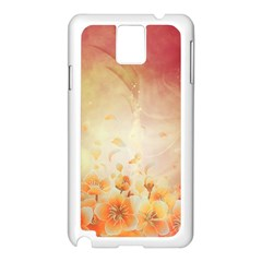 Flower Power, Cherry Blossom Samsung Galaxy Note 3 N9005 Case (white) by FantasyWorld7