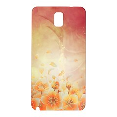 Flower Power, Cherry Blossom Samsung Galaxy Note 3 N9005 Hardshell Back Case by FantasyWorld7