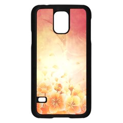 Flower Power, Cherry Blossom Samsung Galaxy S5 Case (black) by FantasyWorld7