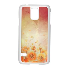 Flower Power, Cherry Blossom Samsung Galaxy S5 Case (white) by FantasyWorld7