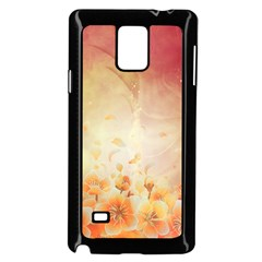 Flower Power, Cherry Blossom Samsung Galaxy Note 4 Case (black) by FantasyWorld7