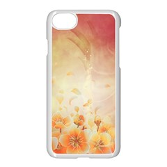 Flower Power, Cherry Blossom Apple Iphone 7 Seamless Case (white) by FantasyWorld7